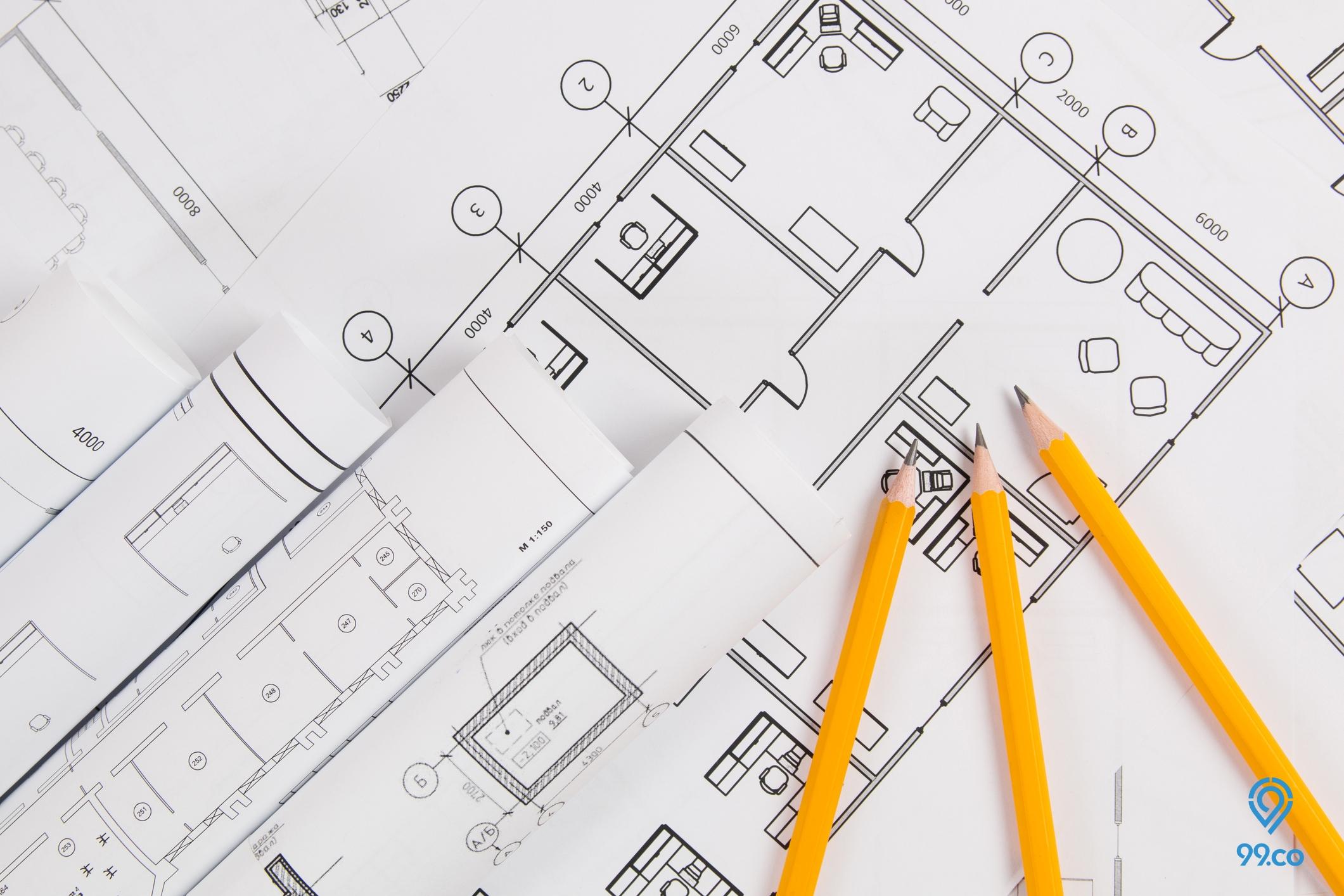 Ketentuan dan Cara Menghitung Luas Bangunan Rumah