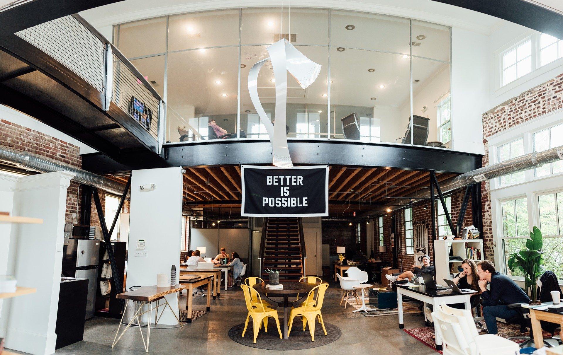 3 Inspirasi Tata Ruang Kantor yang Bikin Betah