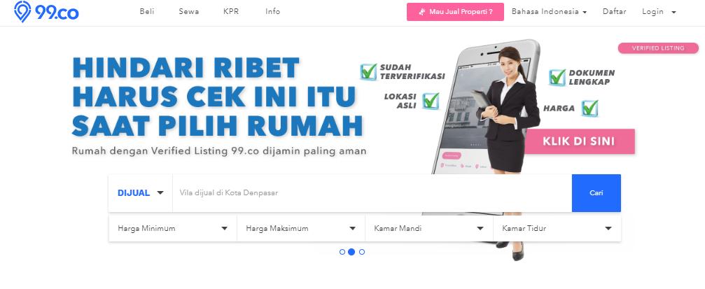Mencari Profil Agen Properti Profesional? Temukan Hanya di 99.co Indonesia