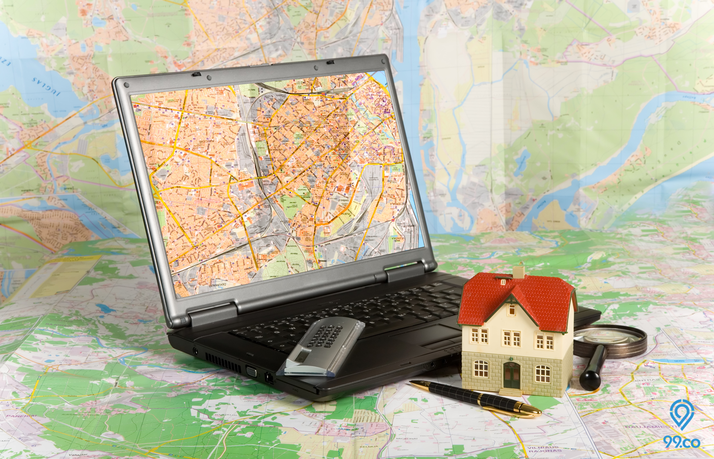 Bagaimana Cara Cari Properti Memakai Fitur Pencarian Peta?