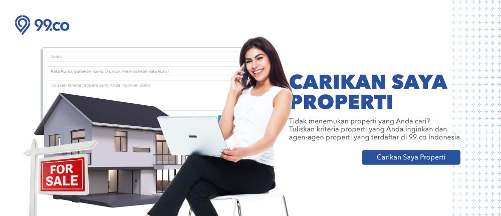 Begini Cara Gunakan Fitur 'Carikan Saya Properti' 99.co Indonesia