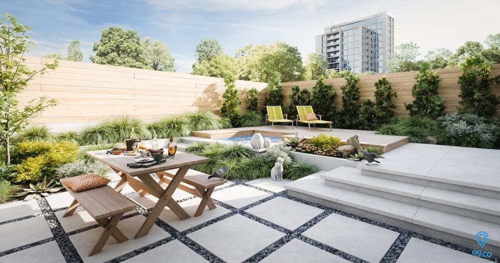 Patio : Taman Mungil Multifungsi untuk Rumah Anda!