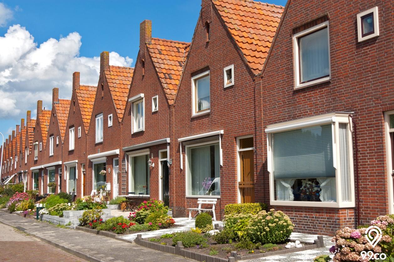 Uniknya Rumah Gaya Belanda Klasik dan Modern