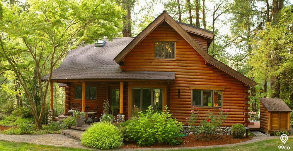 Rumah Rustic, Hunian Cantik dengan Sentuhan Alami