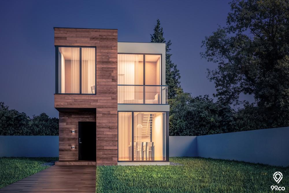 Hunian di Lahan Sempit? Konsep Compact House Solusinya!