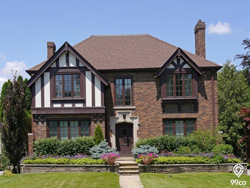 Rumah Inggris yang Bisa Jadi Inspirasi. Klasik nan Menawan!