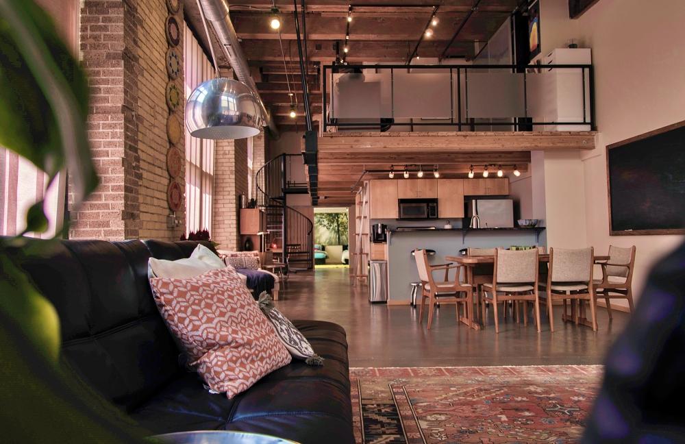 Beragam Kreasi Rumah Loft yang Praktis dan Fungsional