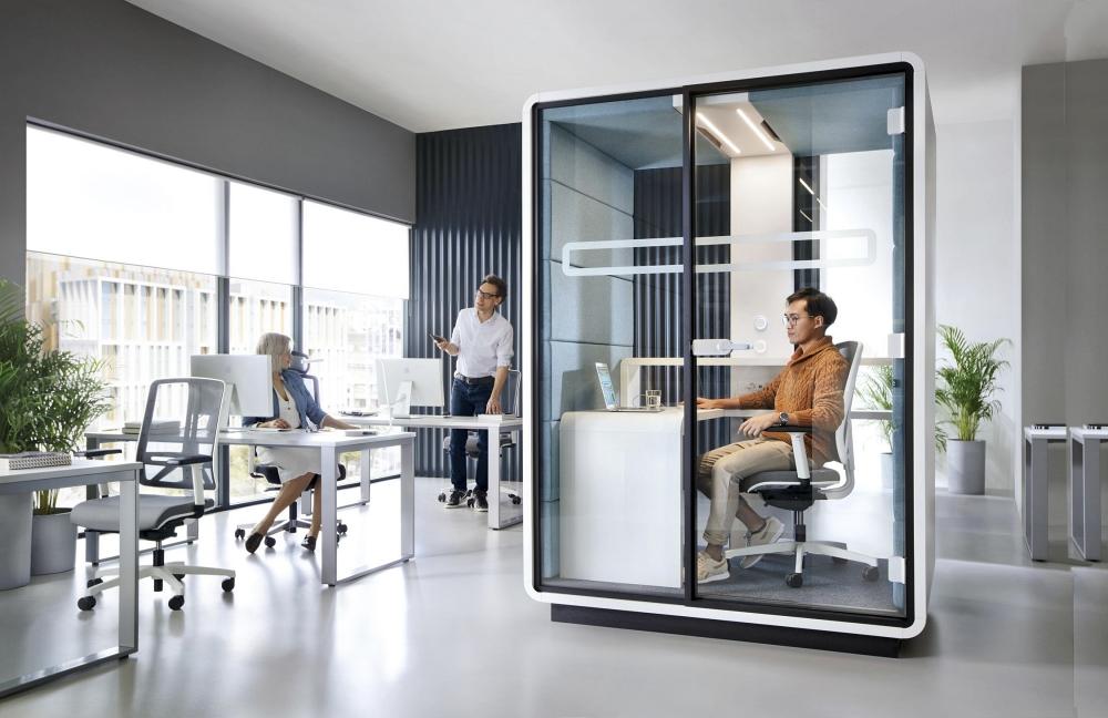 Office Pod, Solusi Cerdas untuk Suasana Kerja Lebih Tenang
