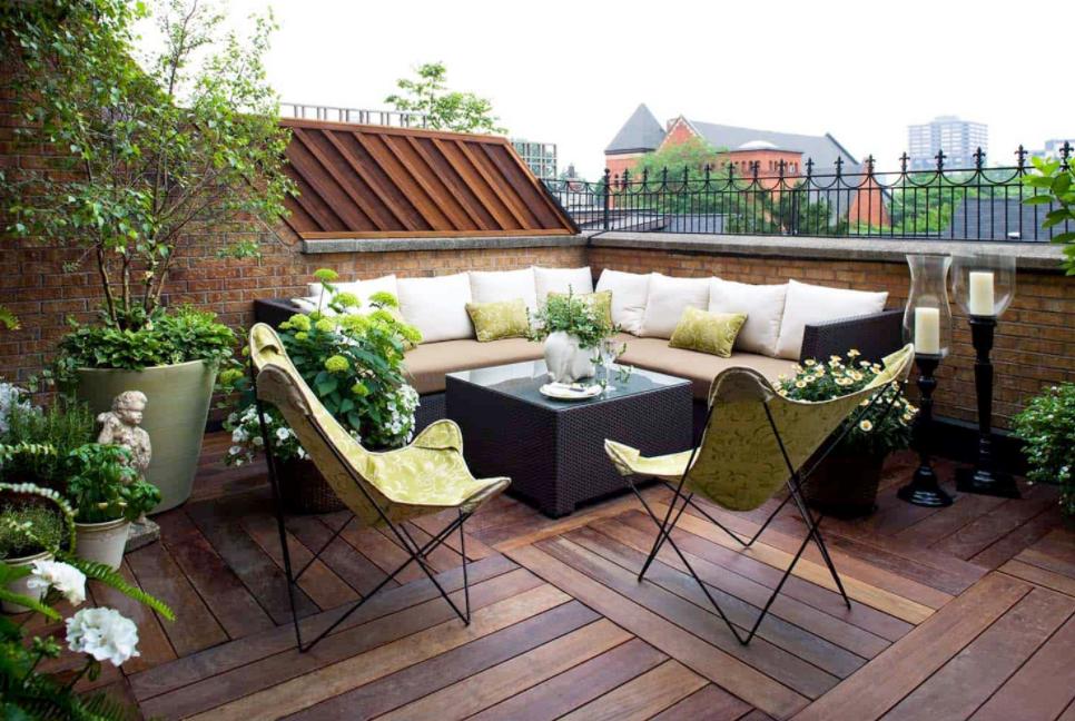 6 Tips Membuat Desain Taman Di Atap Rumah Menjadi Cozy Dan Nyaman!