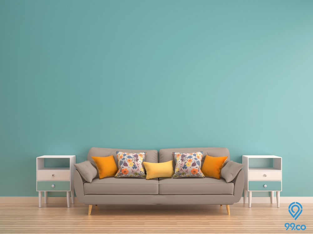 9 Warna Cat Interior Rumah Terbaik, Aman Sudah Teruji!