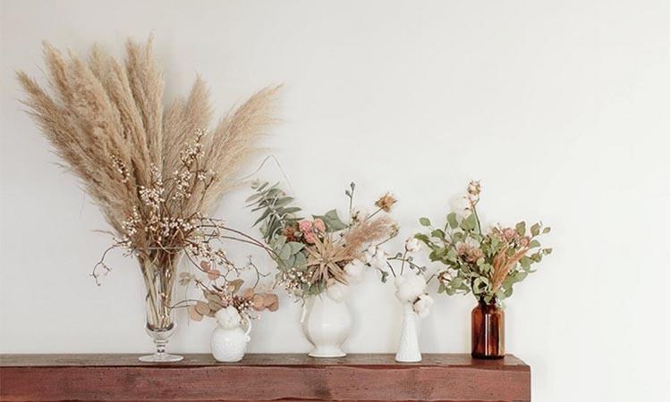 Inspiratif! Percantik Ruangan dengan Ragam Dekorasi Dried Flowers