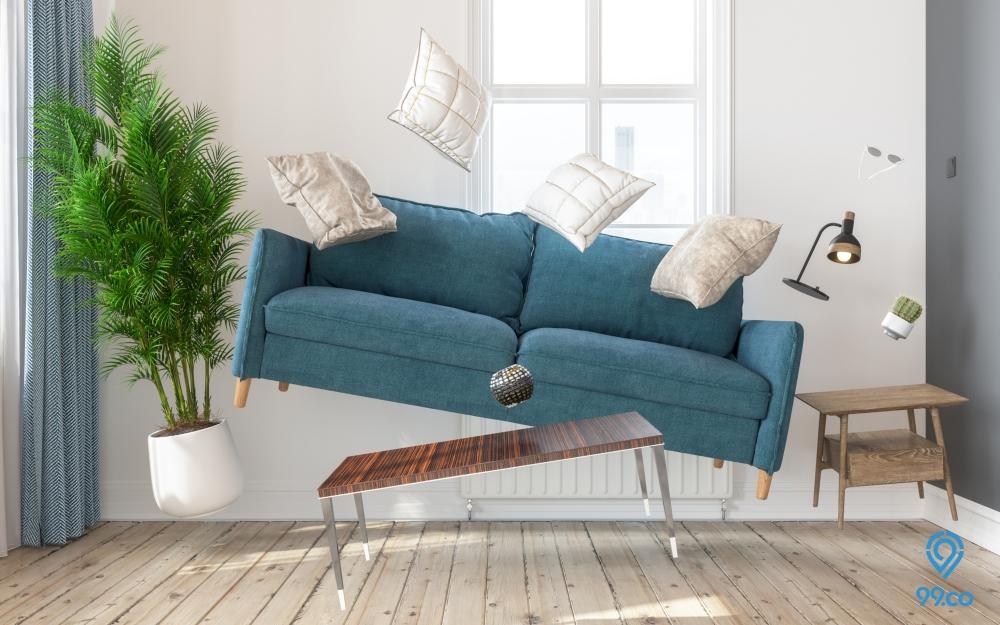 Ide Furniture Ruang Tamu untuk Menampilkan Kesan Luas dan Elegan