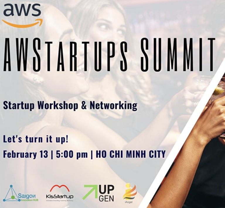 aws startups summit invitation banner