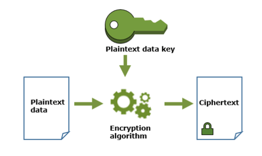 how plaintext data key work
