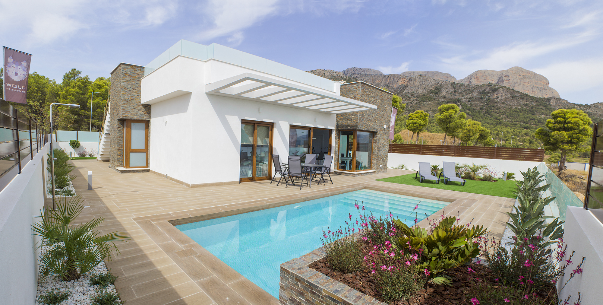 3 bedroom villa For Sale in Polop - Main Image