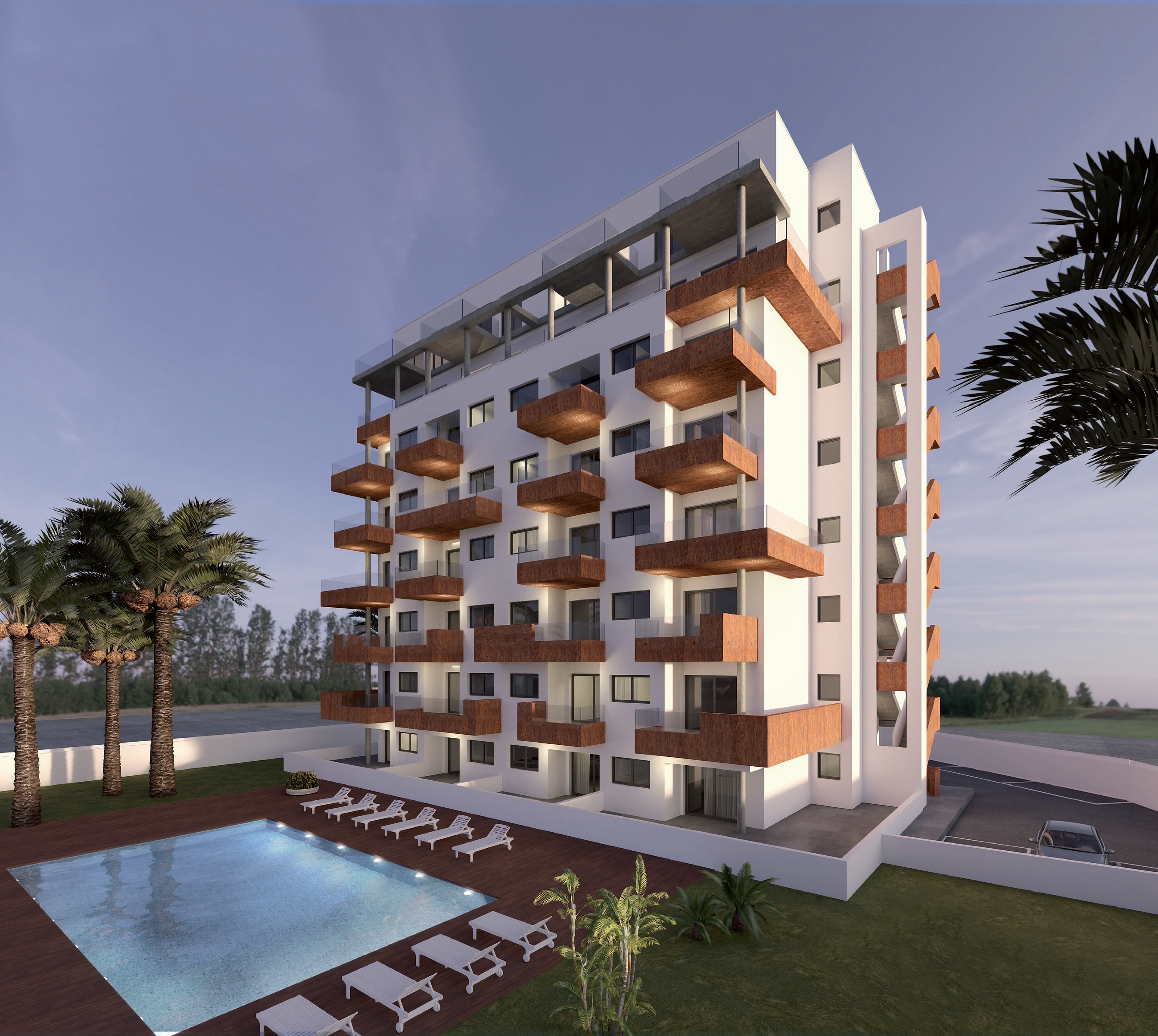 2 bedroom apartment For Sale in Guardamar - Main Image