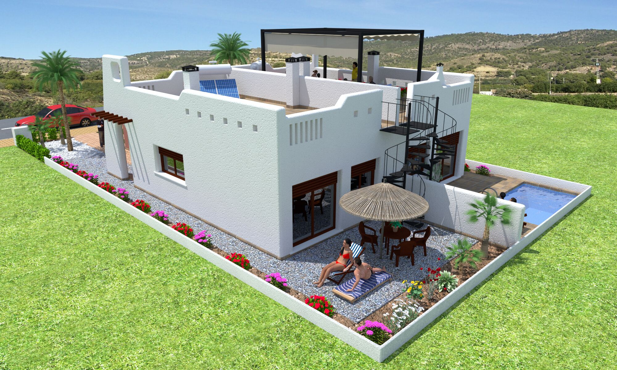 2 bedroom villa For Sale in Los Alcazares - Main Image