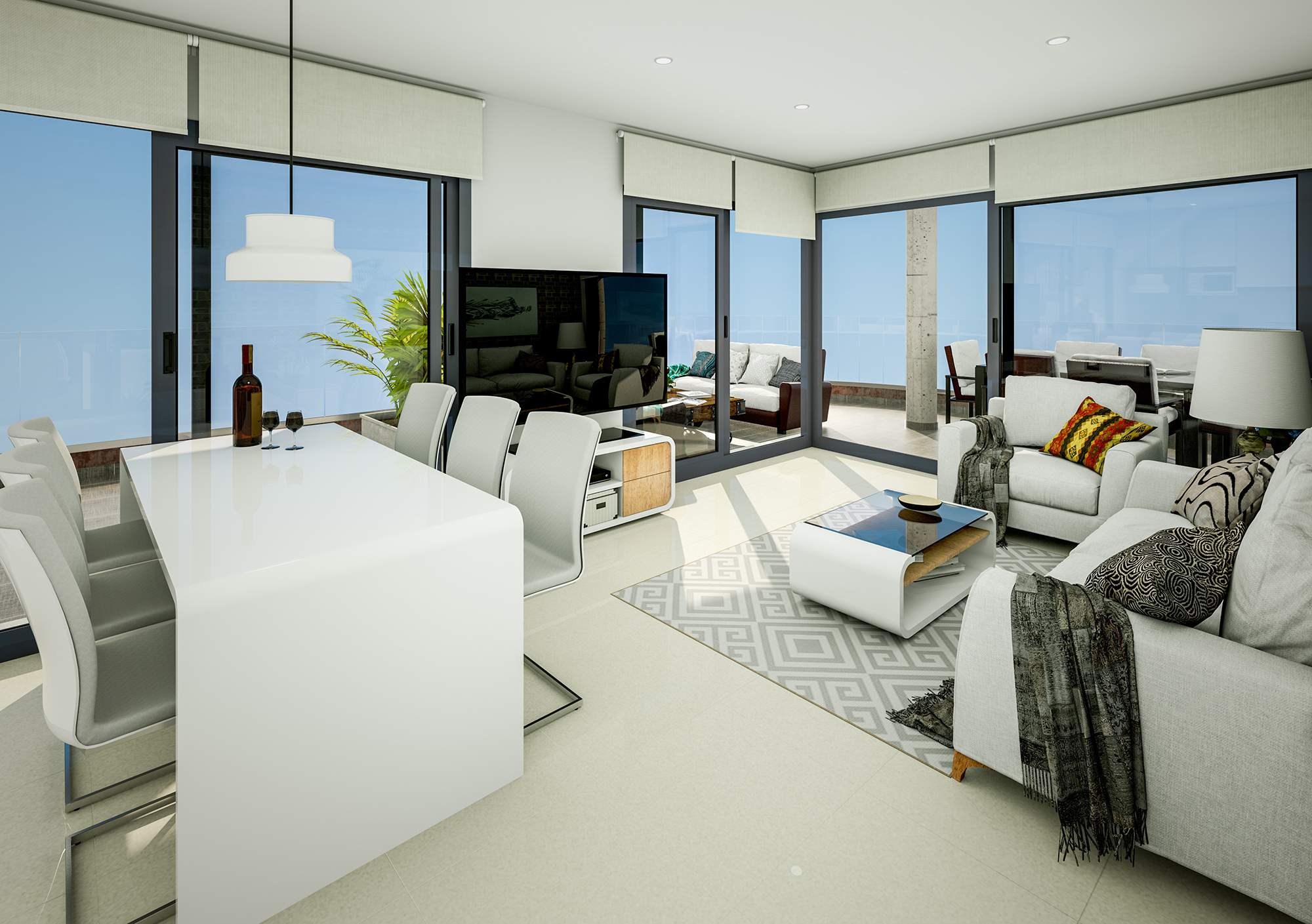 2 bedroom penthouse For Sale in Torrevieja - Main Image