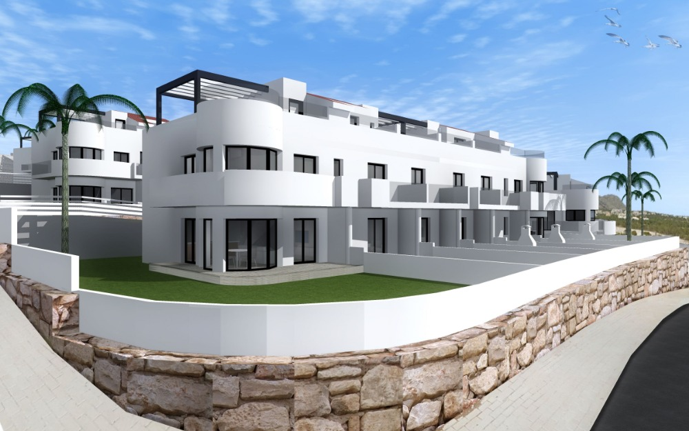 3 bedroom townhouse For Sale in Finestrat - Main Image