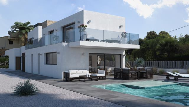 3 bedroom villa For Sale in Moraira - Main Image
