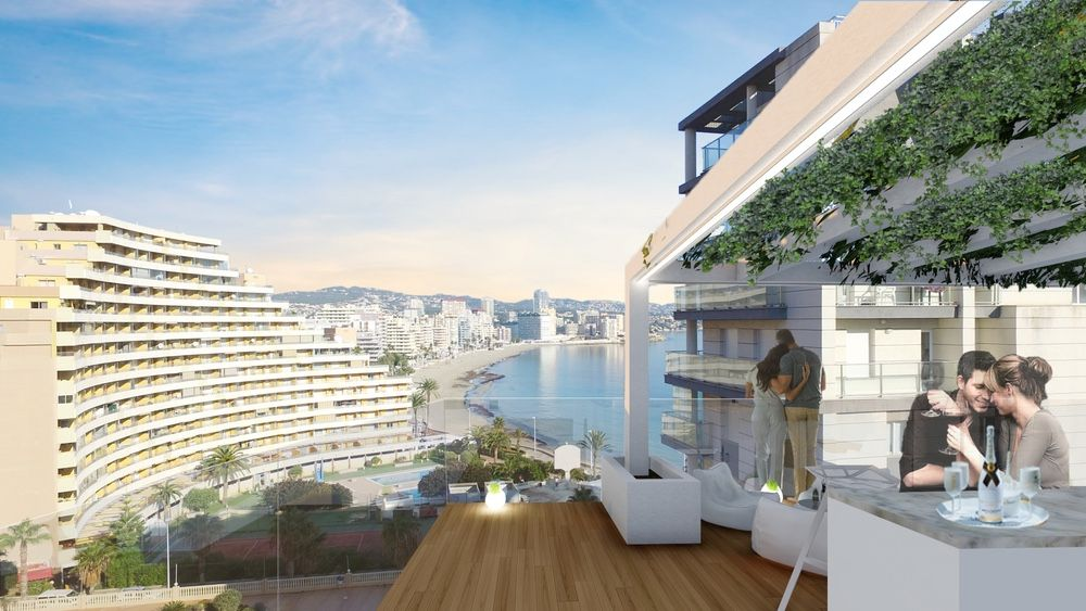 2 bedroom apartment For Sale in Calpe - Main Image