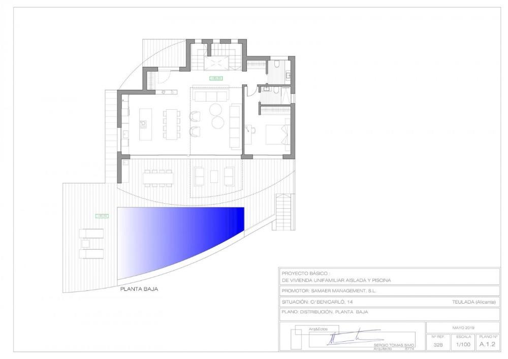 3 bedroom villa For Sale in Moraira - photograph 12