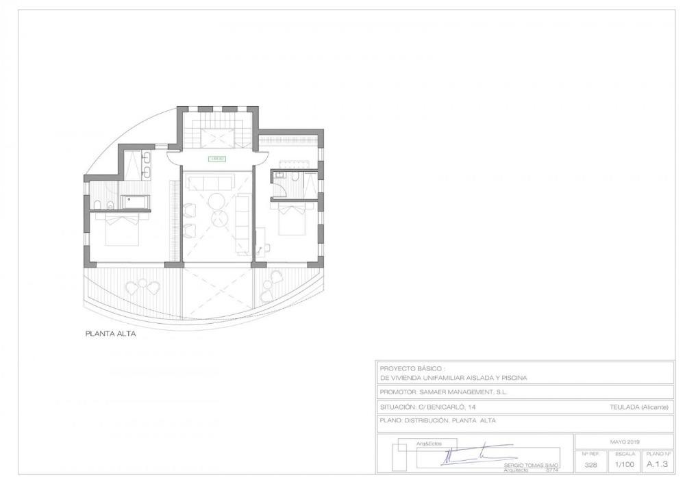 3 bedroom villa For Sale in Moraira - photograph 13