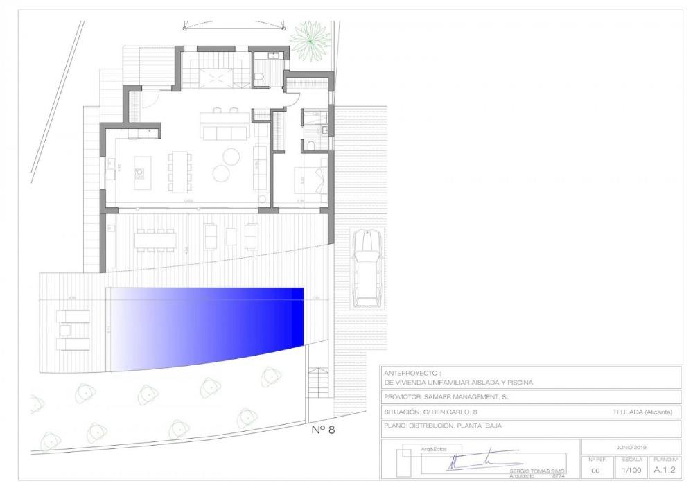 4 bedroom villa For Sale in Moraira - photograph 13