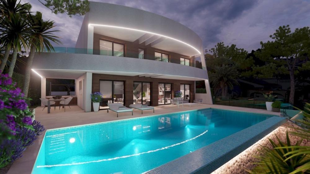 4 bedroom villa For Sale in Moraira - photograph 4