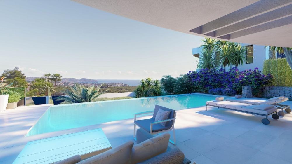 4 bedroom villa For Sale in Moraira - photograph 3