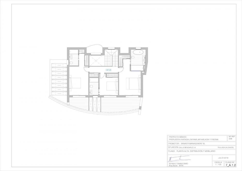 4 bedroom villa For Sale in Moraira - photograph 12