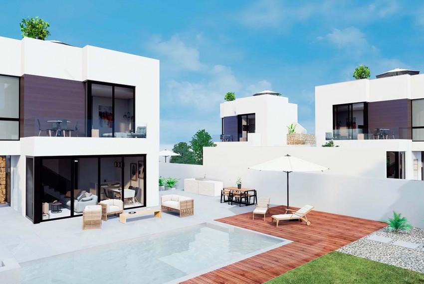 3 bedroom villa For Sale in Torrevieja - Main Image
