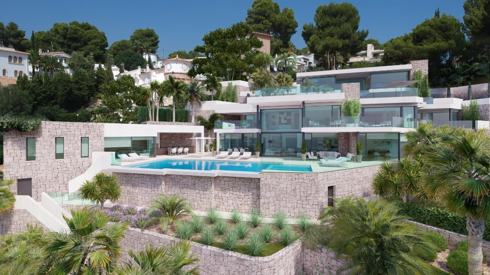 4 bedroom villa For Sale in Moraira - Main Image