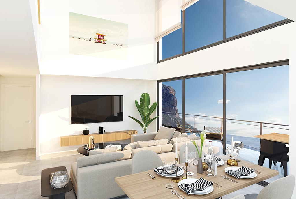 2 bedroom apartment For Sale in Calpe - photograph 3