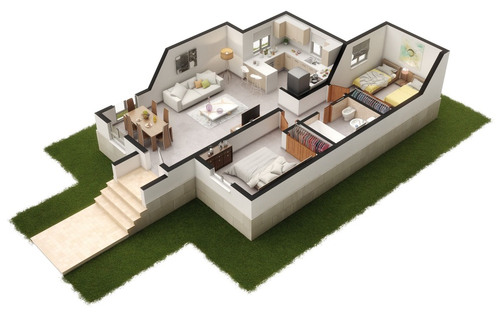 2 bedroom villa For Sale in Balsicas - photograph 2