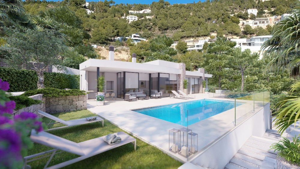 3 bedroom villa For Sale in Benissa Coast - Main Image
