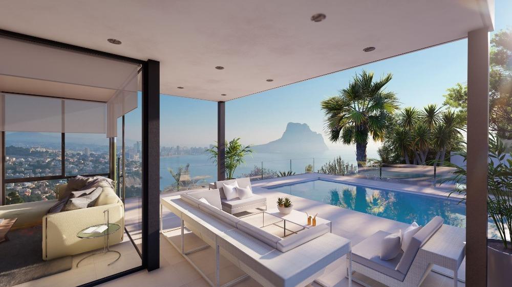3 bedroom villa For Sale in Calpe - Main Image