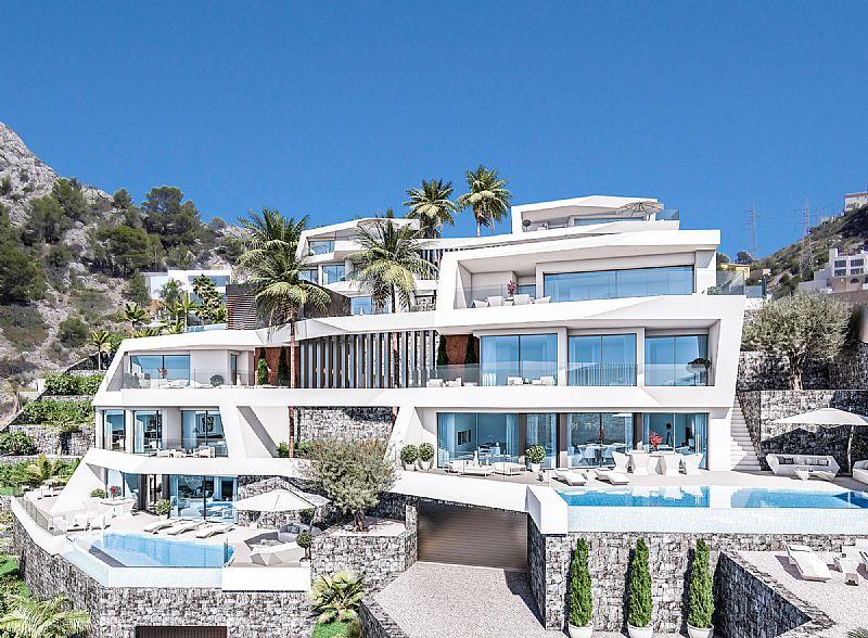 4 bedroom villa For Sale in Altea - Main Image