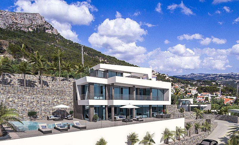 5 bedroom villa For Sale in Calpe - photograph 5