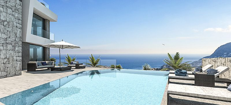 5 bedroom villa For Sale in Calpe - photograph 2