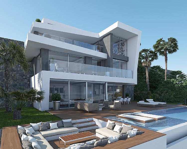 5 bedroom villa For Sale in Javea - Main Image