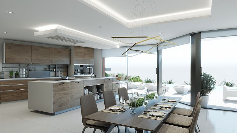 4 bedroom villa For Sale in Benissa Coast - photograph 3