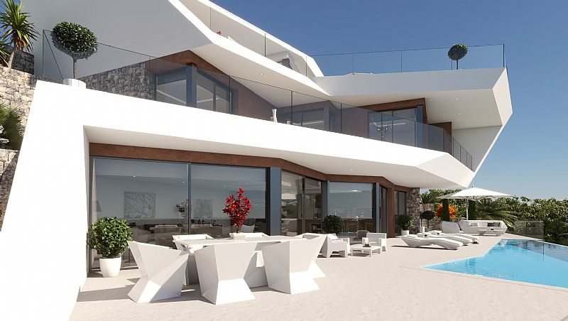 4 bedroom villa For Sale in Benissa Coast - Main Image