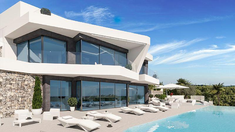 4 bedroom villa For Sale in Benissa Coast - Main Image