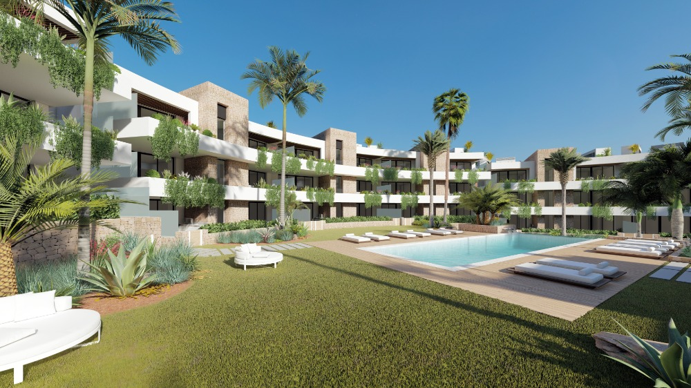 2 bedroom apartment For Sale in La Manga Club - Main Image