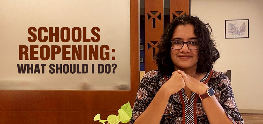 Schools reopening: what should I do?
