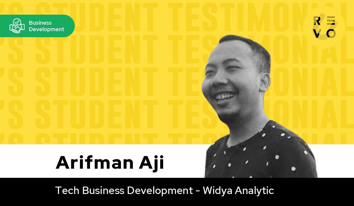 Arifman Aji: Berpengalaman 9 Tahun Bukan Alasan Untuk Berhenti Belajar