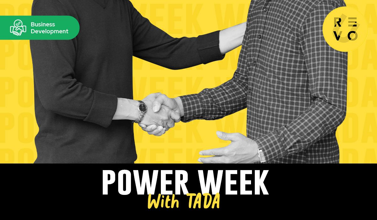 """Power Week with TADA: """"This is tech sales, and this is what real life is going to be like."""""""