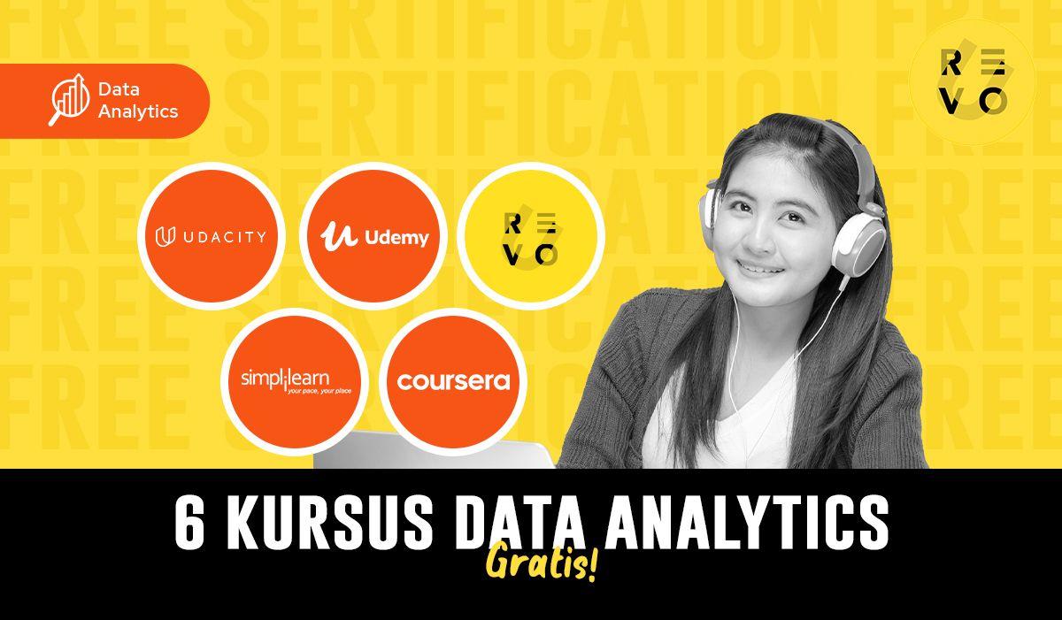 6 Kursus Data Analytics Gratis