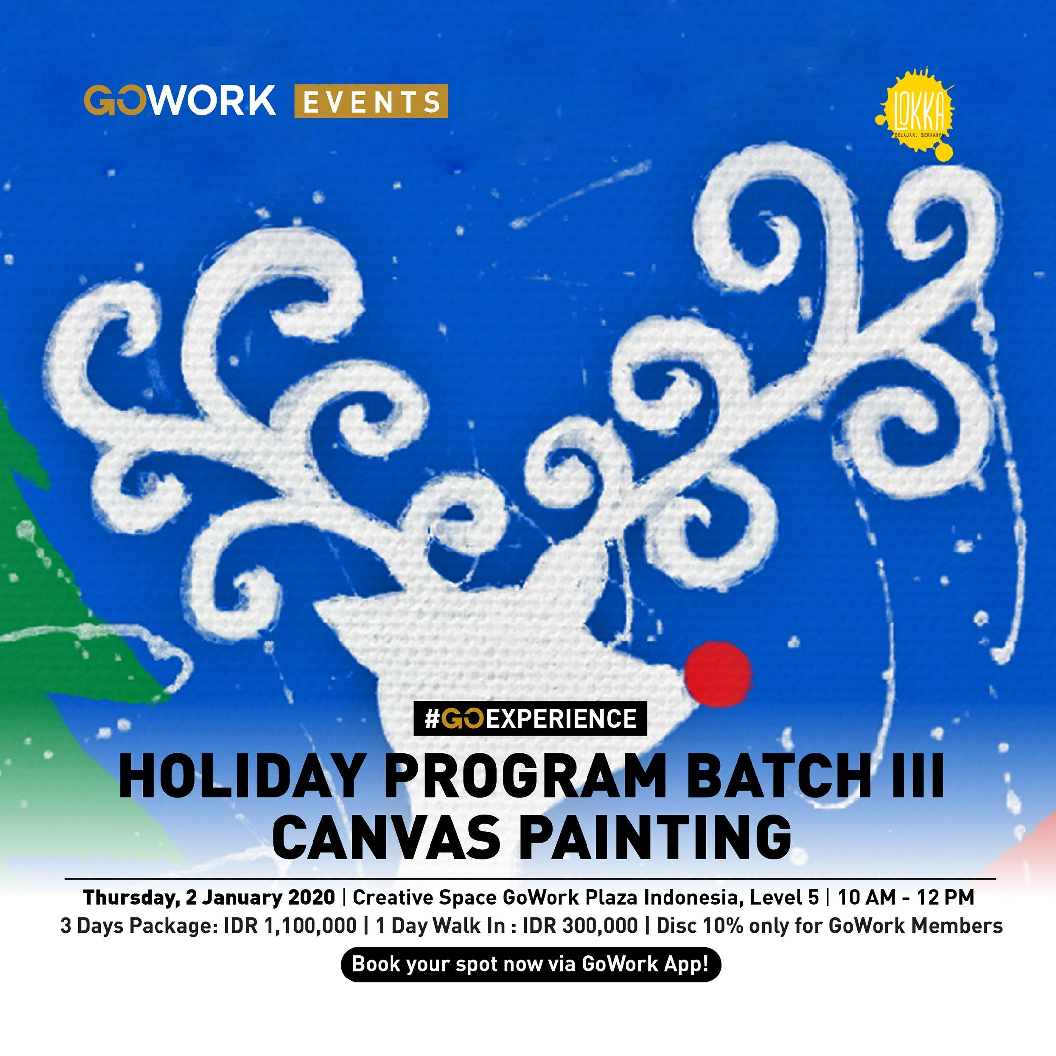 Lokka Holiday Program Batch III : Canvas Painting